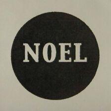 Non montés tampon en caoutchouc solide Noel Cercle
