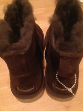 Koolaburra by UGG Brown Boots Size 7 Suede Womens NWOB
