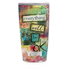 Skin Decal for Yeti 20 oz Rambler Tumbler Cup / Everything will be OK