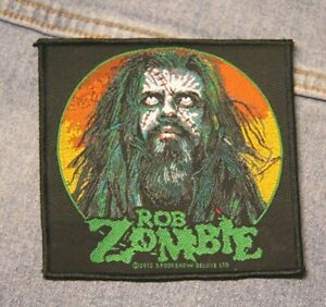 Rob Zombie  sew on patch retro Official merchandise