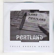 (GO732) Portland, These Broken Hands - 2009 DJ CD