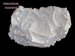 ADULT BABY PLASTIC PANTS SISSY LOLITA COSPLAY FANCY DRESS,