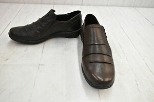 Romika Dora 20402 Slip-On Shoes, Women's Size 9-9.5, Brown - NEW