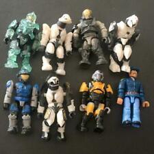 """8pcs Mega Construx Mega Bloks Halo Figures 2"""" BIN"""