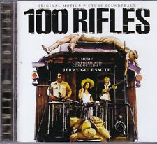 Jerry Goldsmith 100 RIFLES+RIO CONCHOS 2-CD Soundtrack LIMITED EDITION Expanded