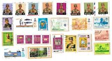 BRUNEI - Selection of Stamps on Paper from Kiloware