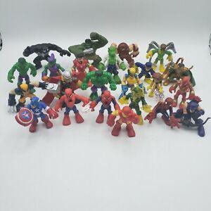 Marvel Hasbro Super Hero Squad 24 Figures Lot 2006-2014 Spiderman, Hulk, Venom