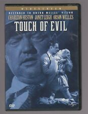 'Touch Of Evil' Charlton Heston Janet Leigh Orson Welles Dvd