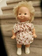Vintage 1976 Mattel Baby Come Back Doll