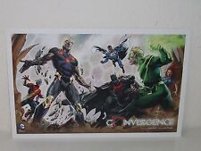 CONVERGENCE  Promo Print  RETAILER ROADSHOW  Poster LITHO - DC New 52 LITHOGRAPH
