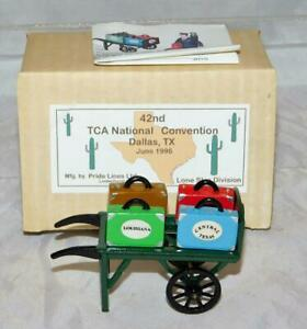 Standard Pride Lines Baggage Cart TCA 1996 DALLAS Convention TCA Banquet Prize