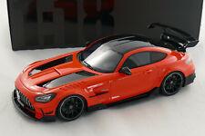 Mercedes-Benz AMG GT-R Black Serie 2021 orange / black 1:18 GT323 GT-Spirit