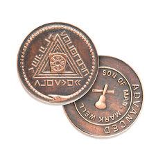x10 Advanced Son of Man Mark Masons Mark Degree Token Badge Lodge Gift 10 Tokens