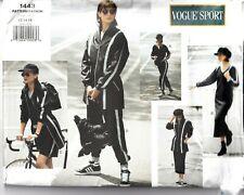 Vogue Sport Sewing Pattern 1443 Tops Shorts Dress Trousers 12-16 Ladies UNCUT