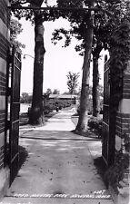 c1940 Fred Maytag Park, Newton, Iowa Real Photo Postcard/RPPC