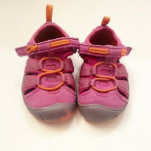 Keen Girl's Size 6 Purple Moxie Closed Toe Washable Sandals