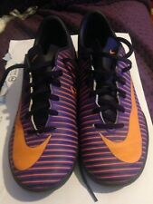 Nike Mercurial X Size 4 Trainers Purple Orange