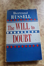 The Will To Doubt by Bertrand Russell 1958 HCDJ Philosophy Book