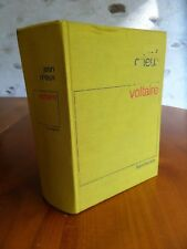 Jean Orieux  VOLTAIRE OU LA ROYAUTE DE L'ESPRIT  Flammarion 1978