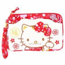 7c391db5de SANRIO HELLO KITTY LUNAR YEAR LUCKY CAT COSMETIC BAG PECNIL BAG 170001
