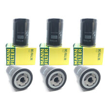 NEW Set of 6 Engine Oil Filters Mann W 719/30 for Audi 90 100 A4 200 TT S6 S4