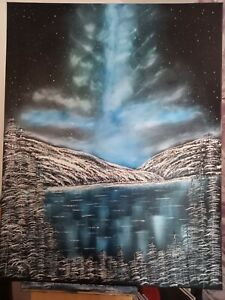 Large original oil painting on canvas
