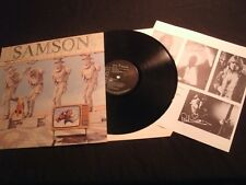 SAMSON - Shock Tactics - 1981 UK Vinyl 12'' Lp./ VG+/ Hard Rock Metal