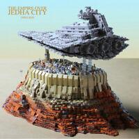 5162PCS Star Destroyer Empire Ship Over Jedha City Building Block Model New