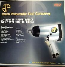 "AP 157, 3/4"" HEAVY DUTY IMPACT WRENCH WITH 2"" ANVIL, 800 FT LB (MK-018)"