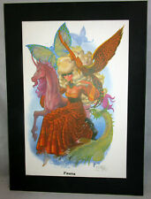 1981 Limited Edition - FAUNA Print by Wendy Pini