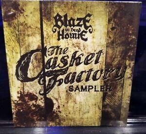 Blaze Ya Dead Homie - The Casket Factory Sampler CD SEALED twiztid boondox amb
