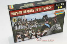 Strelets 212 Napoleonic Russian Infantry on the March. 1/72 Scale