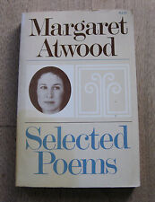 SELECTED POEMS of Margaret Atwood - 1st PB printing 1976 - poetry