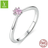 Authentic 925 Sterling Silver Adorable pet Rings For Fashion Women Girls Jewelry
