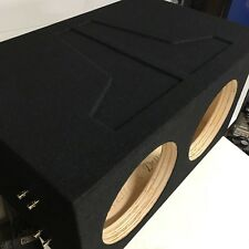 Dual JL Audio 13W7 Custom Ported Box 13.5 w7 13W7AE Enclosure SPL & SQL Tuned