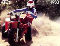 1983 Honda CB1000 CB1000C Custom Motorcycle Brochure L12303