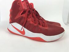 Nike Mens Hyperdunk Basketball Shoes 844359-661 Size 10.5 RED