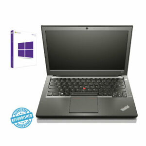 Lenovo Thinkpad X240 | 12.5 Zoll | Konfigurator SSD + HDD + RAM | Windows 10