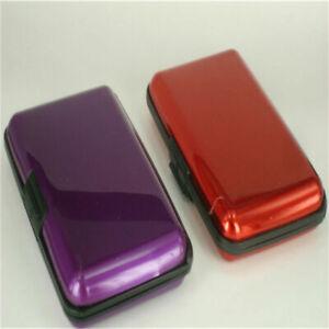 Waterproof Business ID Credit Card Wallet Holder Aluminum Metal Pocket Case Sale