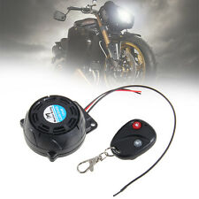 Motorcycle Motorbike Scooter Anti-theft Security Alarm System Remote Control 12V