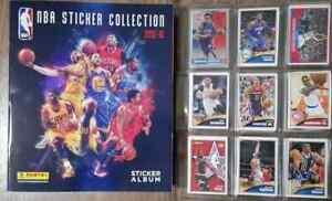 NBA Basketball Panini 2015-16 Album & complete stickers set