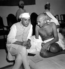 Mahatma Gandhi Spiritual Peace Leader Indian independence Nehru 1942 8x10 PHOTO2