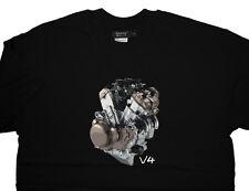 APRILIA RSV4 R FACTORY MOTORE T Shirt T-Shirt-Premium Qualità 100% COTONE migliore