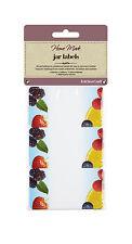 Kitchen Craft Fruit Jam Pot Jar Labels Jam Chutney Pickles KCJLAB1