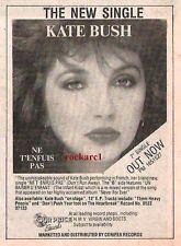 """KATE BUSH NE TENFUIS PAS 1983 UK Press ADVERT 5x4"""""""