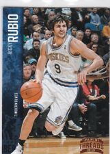 Ricky Rubio  2012-13 Panini Threads Basketball Sammelkarte !!