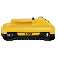 DEWALT DCB240 (1) 20V MAX 4 Ah Compact Li-Ion Battery New