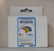 Cartucho tinta color para x5650 x6650 x3630 x4650 x4630 sustituye Lexmark 37xl