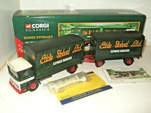 Corgi 97369 AEC Truck and Trailer Set for  Eddie Stobart Diecasts 1:50 Scale