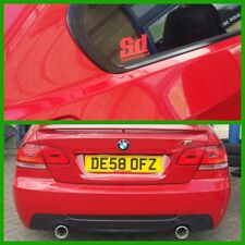 BMW E90/E91/318320d/320i/4 door/estate/DUAL EXIT CUSTOM EXHAUST/335i style